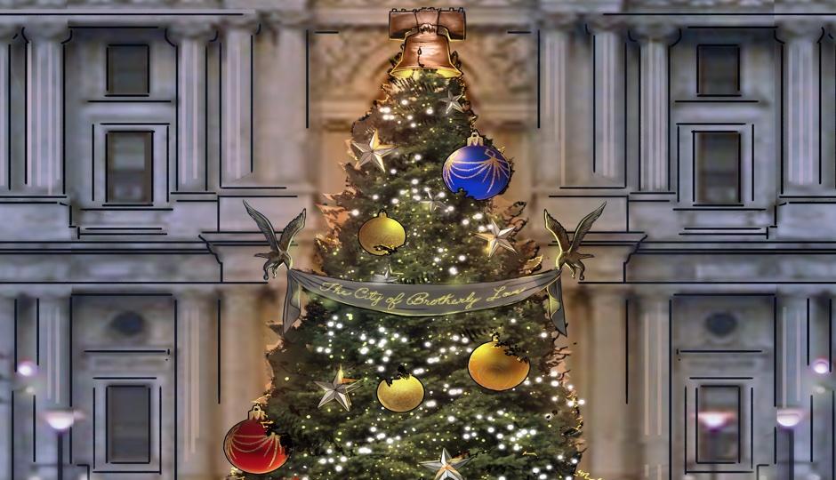 Hamilton Set Designer Is Decorating The City Hall Christmas Tree Philadelphia Magazine