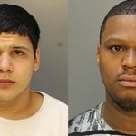 Mehdi Fraiji (left) and Raeese Nasir have been arrested and charged in connection to October's Rittenhouse shooting. Photos courtesy of Philadelphia Police.