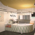 Rendering of the HipCityVeg location on Broad Street | Image courtesy HipCityVeg