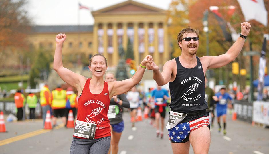 Photograph courtesy of the Philadelphia Marathon