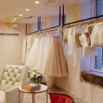 The new BHLDN space inside the Rittenhouse Anthropologie. All photos by Madalynne.