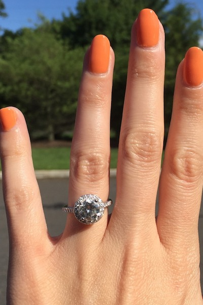 Krista's ring!