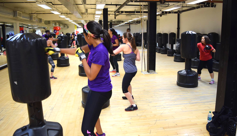 Boxing at SWEAT Fitness   Photo via Facebook