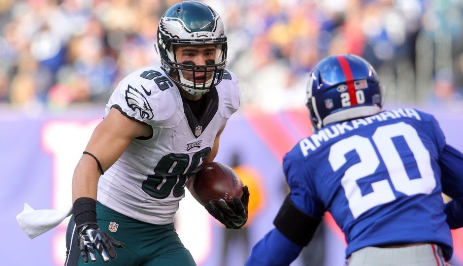 Zach Ertz. (USA Today Sports)