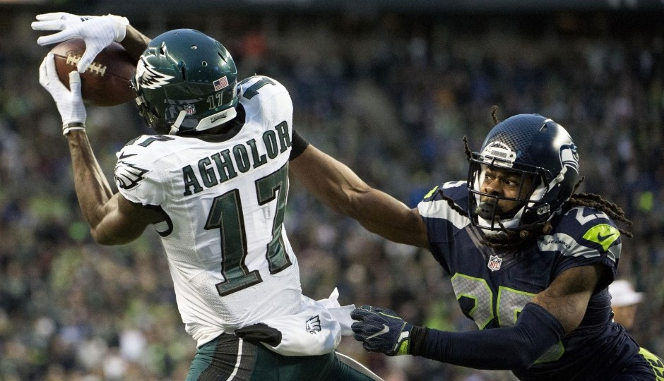 Nelson Agholor. (USA Today Sports)