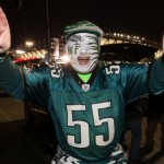 "Philadelphia Eagles fan Gene ""the face"" Olewnik. (USA Today Sports)"