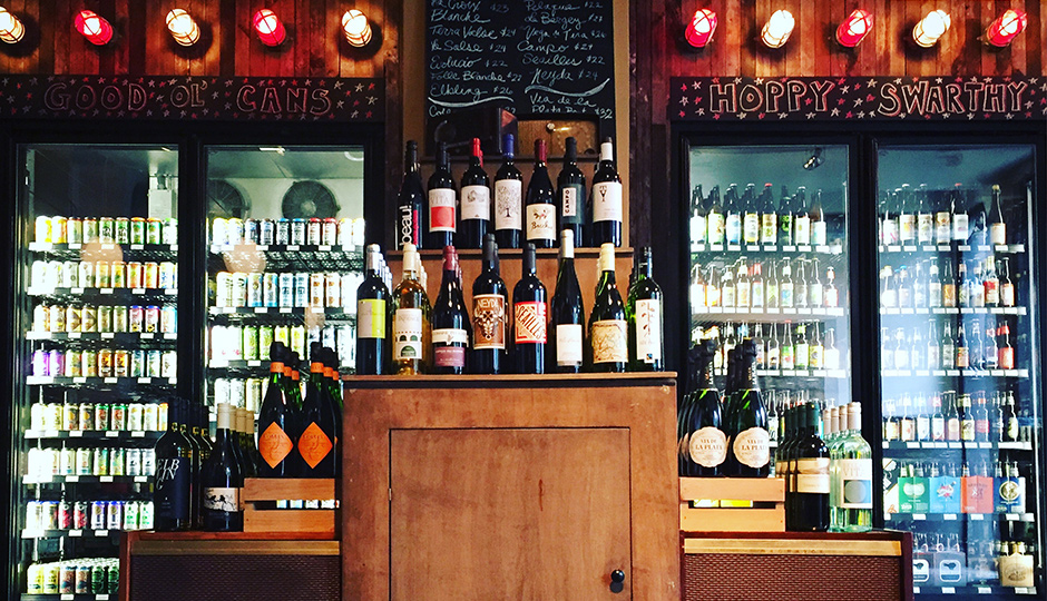 """The Bottle Shop at Local 44 is now even more """"bottle-y."""""""