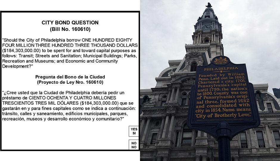 City bond question