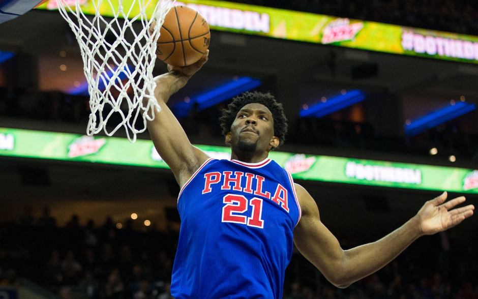 Joel Embiid finished with a career-high 26 points in the Sixers 120-105 victory | Bill Streicher-USA TODAY Sports
