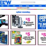 Screenshot of Five Below's Cyber Monday page.