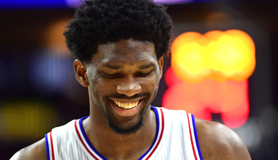 Joel Embiid's 25 points were enough to lift the Philadelphia 76ers to a 109-105 overtime victory, the Sixers first win of the season | Eric Hartline-USA TODAY Sports
