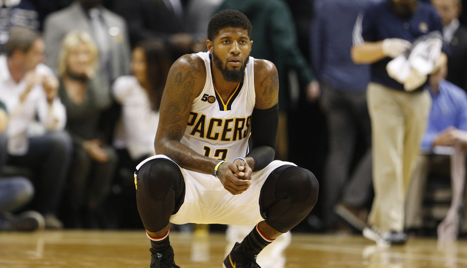 The Sixers will take on Paul George and the struggling Indiana Pacers tonight in search of their first win   Brian Spurlock-USA TODAY Sports