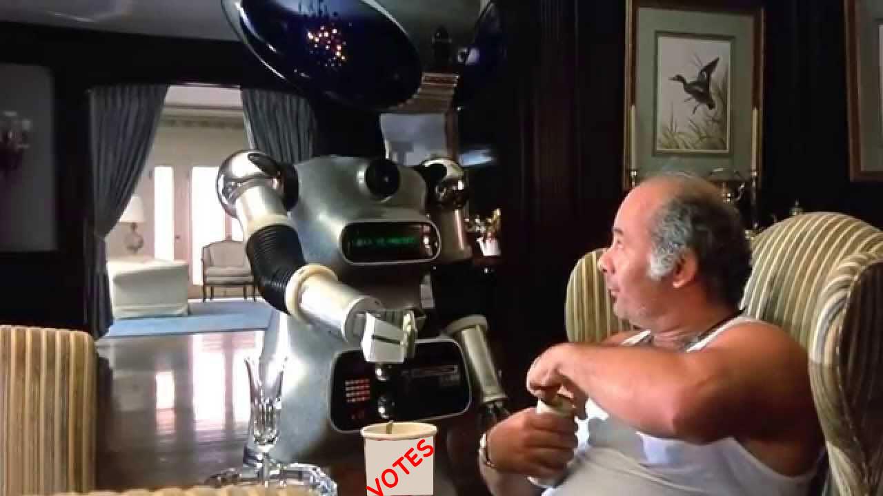 Paulie's robot voting machine