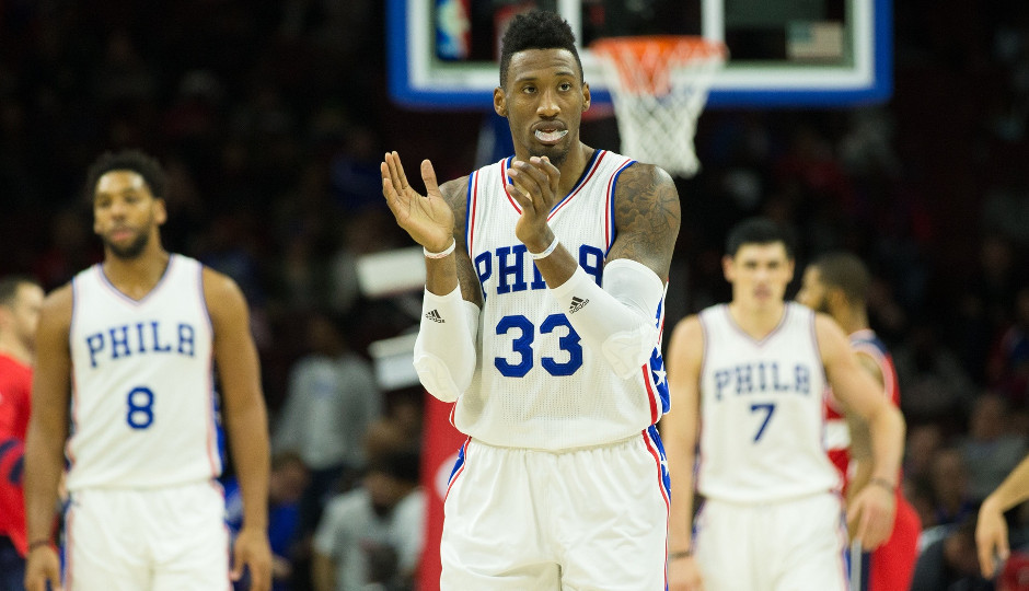 Robert Covington's struggles to start the season have opened the door for a change in the starting lineup | Bill Streicher-USA TODAY Sports