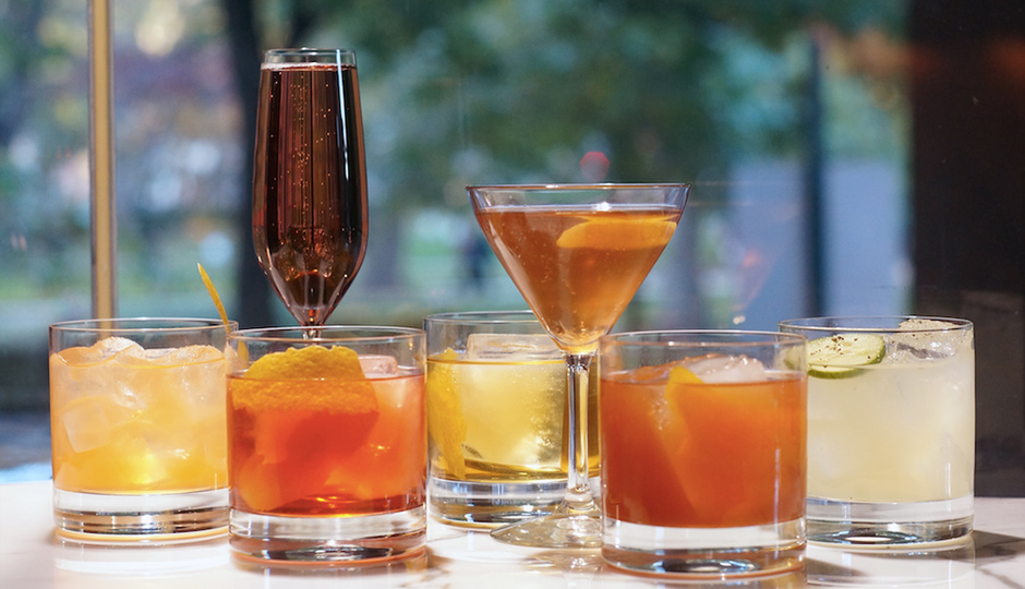 Scarpetta offers half-priced cocktails, wine and beer for happy hour.