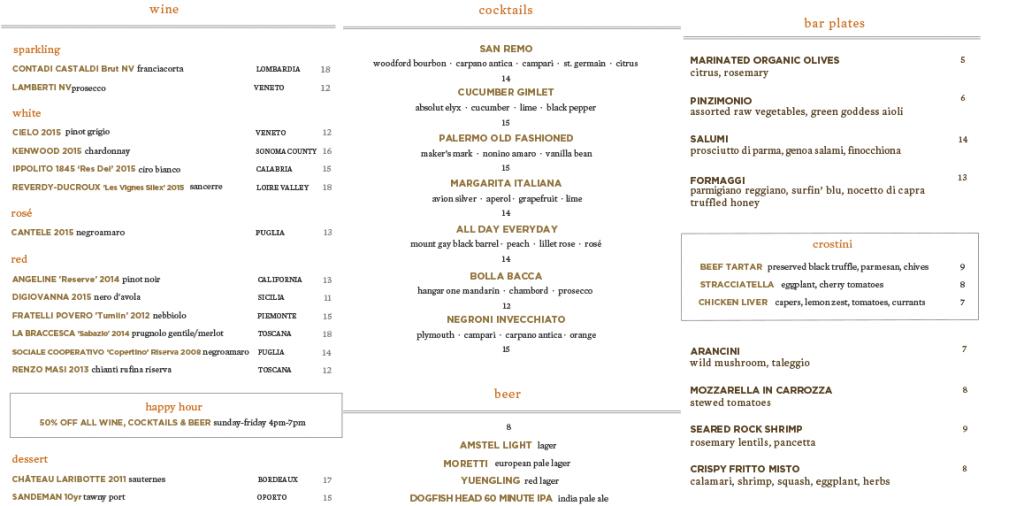 scarpetta-happy-hour-menu