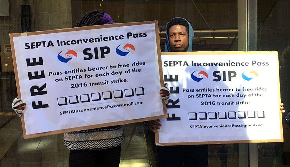 SEPTA Inconvenience Passes