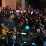 Bruce Springsteen - Hillary Clinton rally