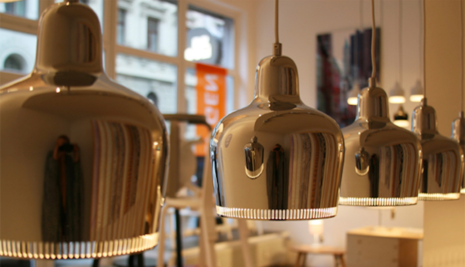 Alvar Aalto's lighting is now available in the United States for the first time. Millésimé in Old City is the exclusive Philadelphia distributor for the Artek lighting line.   Photos: Courtesy Millésimé