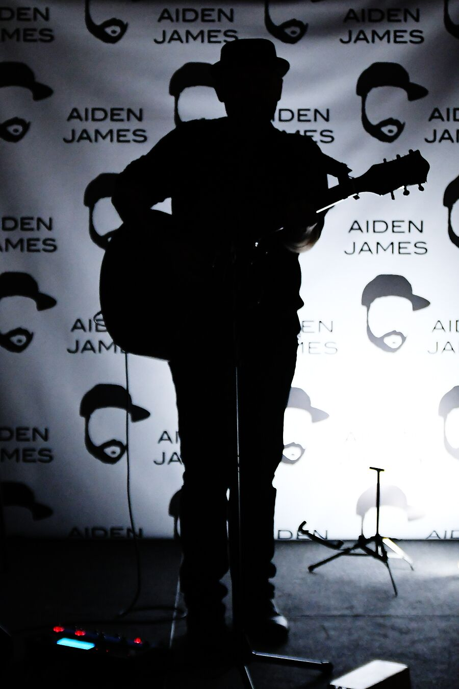 Aiden James performing at DVLF TOY 2016. Photography by Kelly Burkhardt.