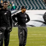 Bryce Treggs, Dorial Green-Beckham, Paul Turner, and Jordan Matthews. (Jeff Fusco)