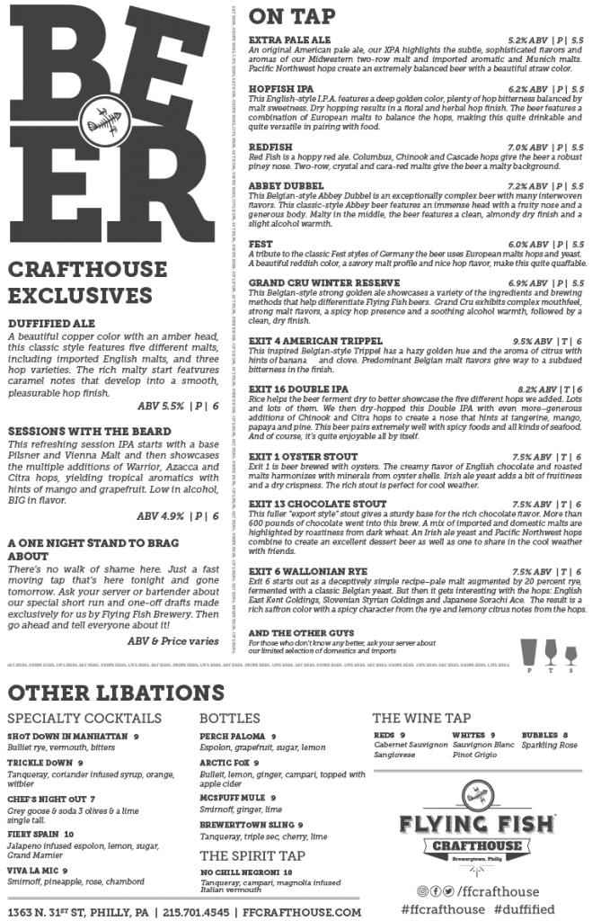 Crafthouse-menu-beer-2