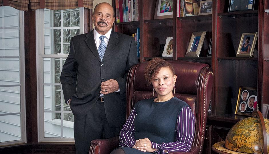 Will Daniel and daughter Brigitte Daniel Corbin | Photograph by Colin Lenton