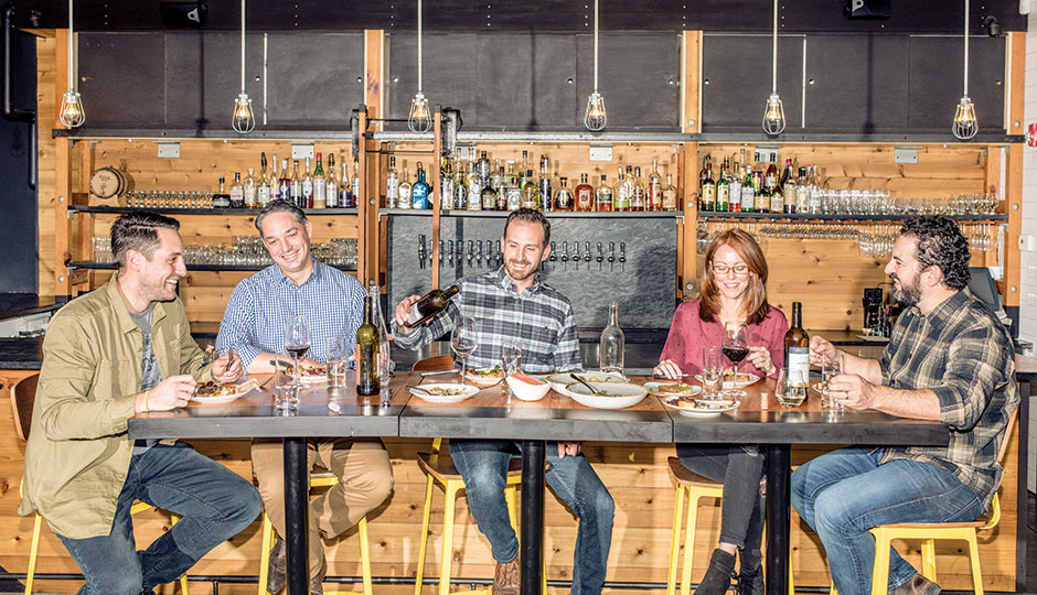 The restaurateurs dine at Kensington Quarters in Fishtown | Photograph by Christopher Leaman