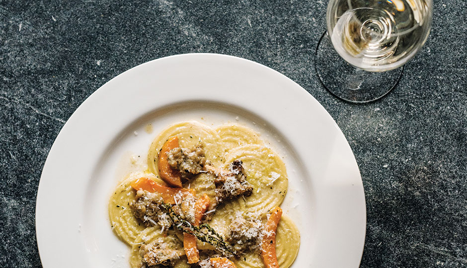 Corzetti rabbit pasta from Wm. Mulherin's Sons in Fishtown | Photograph by Christopher Leaman