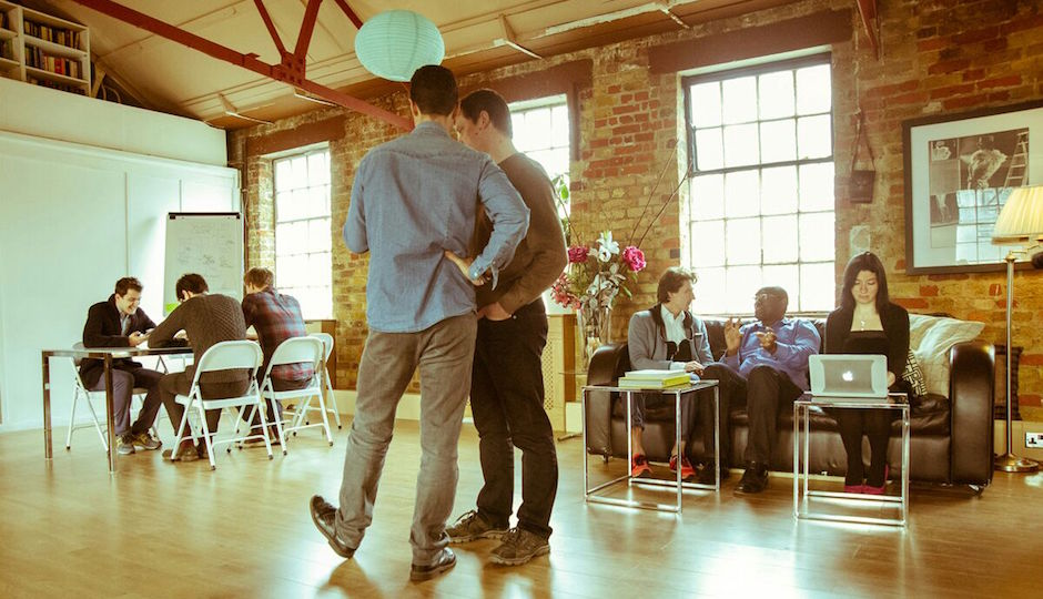 Startup Home's London facilities join the idea factory and the loft apartment at the hip.