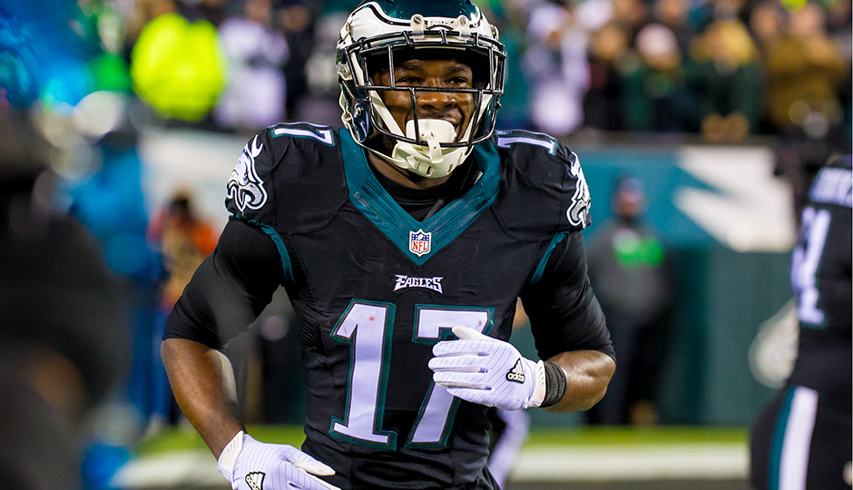 Nelson Agholor. (Jeff Fusco)