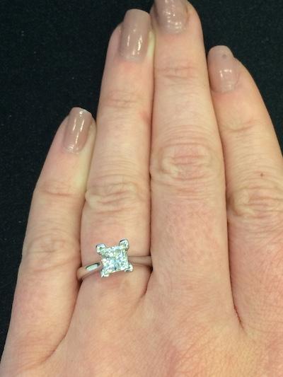 Melissa's ring!