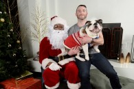 Hotel Palomar is collecting donations for no-kill shelter Saved Me at Santa Paws on Saturday. Photo by Andre Flewellen