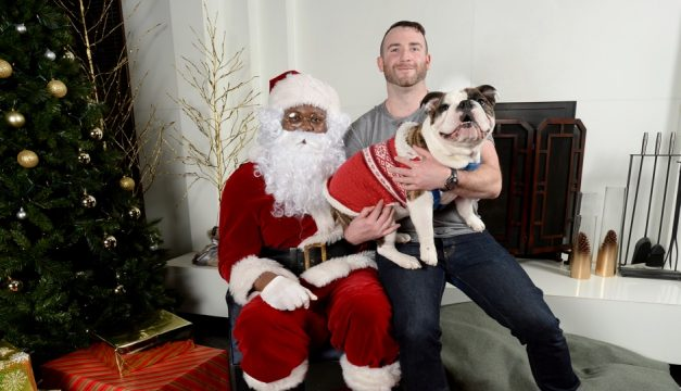 Hotel Palomar is collecting donations for Saved Me at Santa Paws on Saturday.Photo by Andre Flewellen