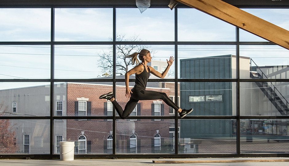 Second floor of City Fitness's new still-under-construction Fishtown location