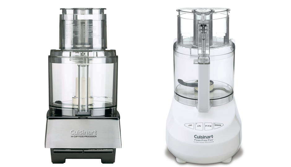 Examples of some of the Cuisinart food processors involved in the recall. | Images via Cuisinart.