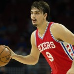Dario Saric finished the night with | Bill Streicher-USA TODAY Sports