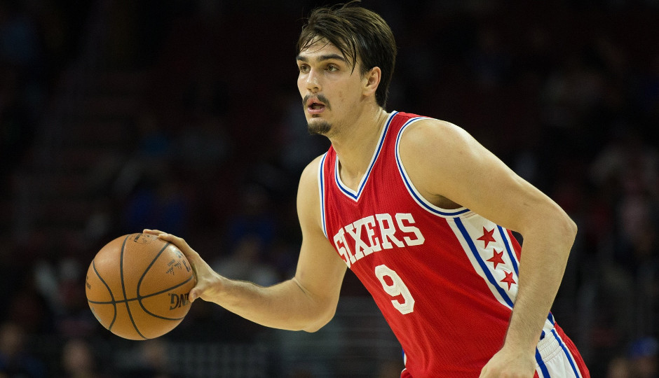 Dario Saric finished the night with   Bill Streicher-USA TODAY Sports