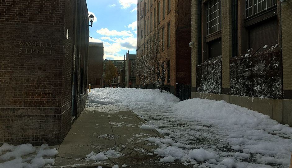 Foam on Juniper Street