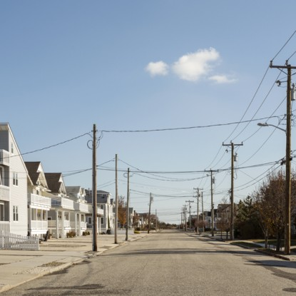 A deserted street in Avalon after the shoobies have gone home | Photograph by Eric Prine