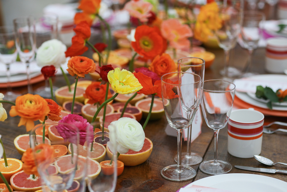 An Uncommon Events tablescape from last year's Love Is in the Air. Photo by Alison Conklin.