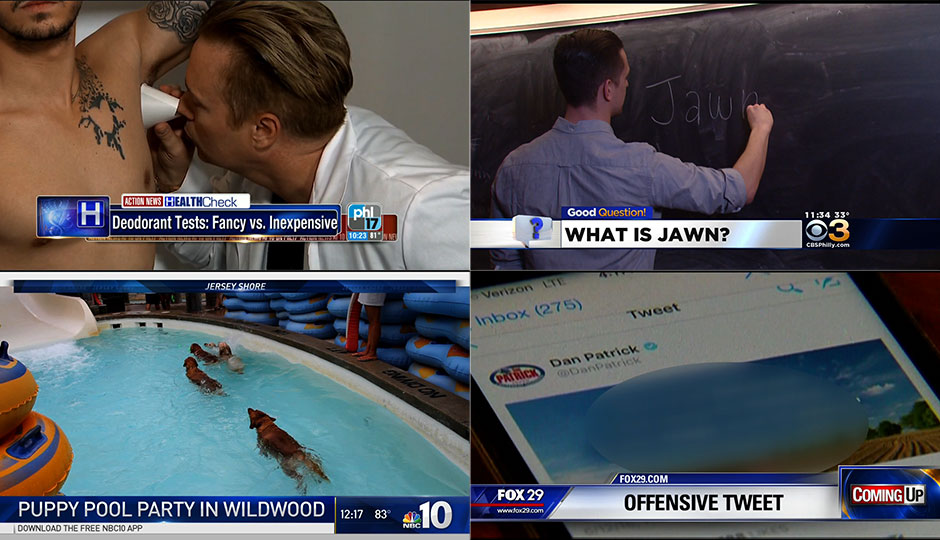 2016 Local News Screenshots