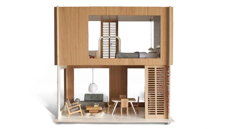 Maniio Modern Dollhouse at Design Life Kids | Photograph courtesy designlifekids.com