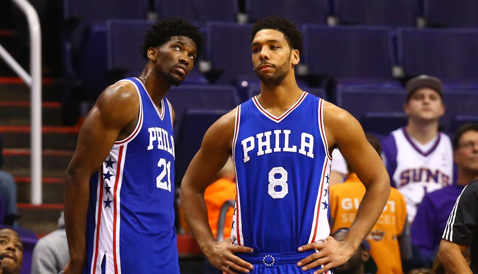 Lineups with both Jahlil Okafor and Joel Embiid on the court have struggled so far | Mark J. Rebilas-USA TODAY Sports