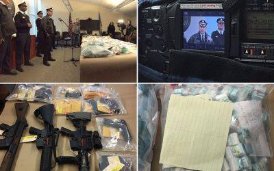 Philadelphia police drug bust press conference