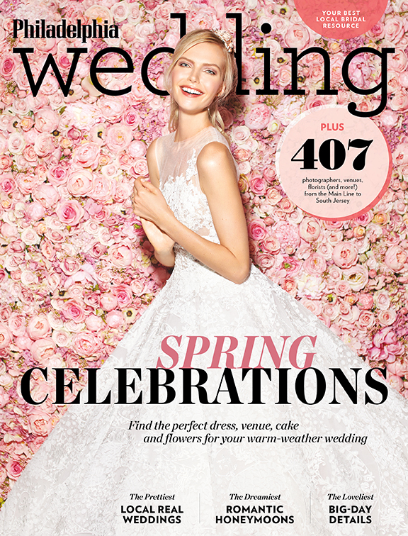 The spring/summer 2017 issue of Philadelphia Wedding, come atcha.