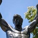 Rocky Balboa Statue  at t