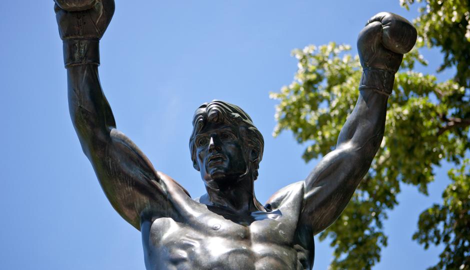 Rocky Balboa Statue in Philadelphia