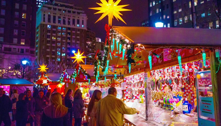 Philadelphia Christmas Village   Photo by J. Fusco for Visit Philadelphia