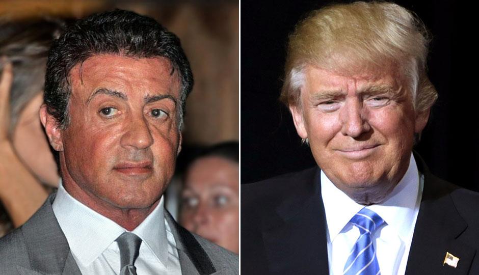 Sylvester Stallone, Donald Trump